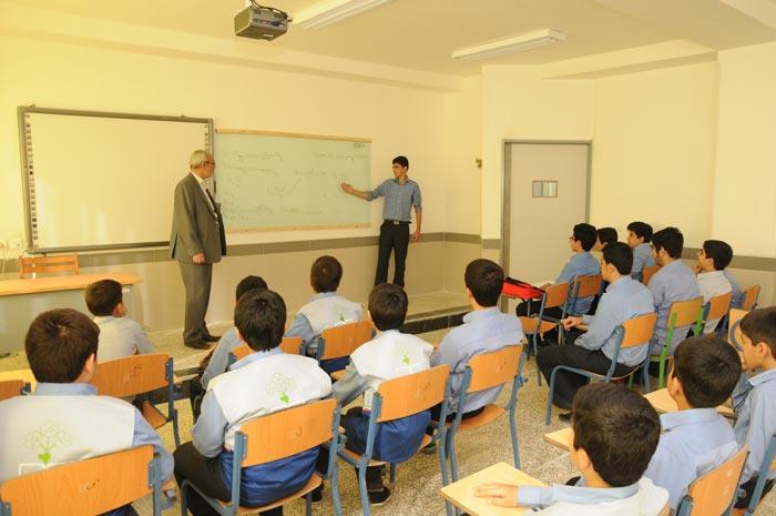 آدرس مدارس تیزهوشان پسرانه تهران