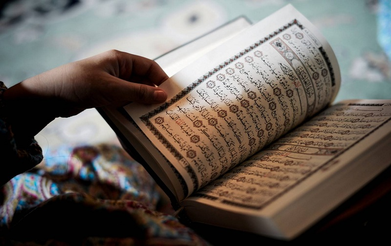 نمونه سوال امتحان آموزش قرآن پایه هشتم نوبت اول دی ماه مدرسه سرای دانش منطقه 4 تهران