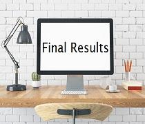 اعلام نتایج نهایی دکتری سراسری سال