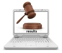 اعلام نتایج آزمون وکالت