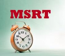زمان برگزاری آزمون MSRT